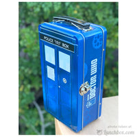 Doctor Who Embossed Lunch Box