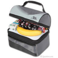 Standard Insulated Dome Lunch Box - Black