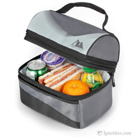 Insulated Dome Lunchbox - Black