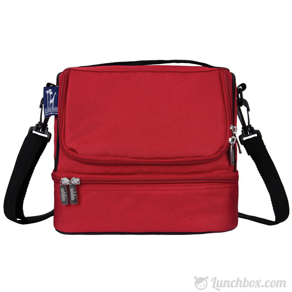 Double Decker Lunch Box - Cardinal Red