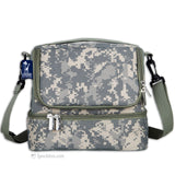 Double Decker Lunch Box - Camouflage