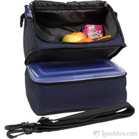 Double Decker Lunchbox - Navy Blue