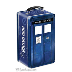 Doctor Who Tardis Embossed Snack Box