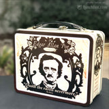 Edgar Allan Poe Embossed Lunch Box