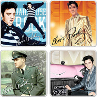 Elvis Presley Coaster Set