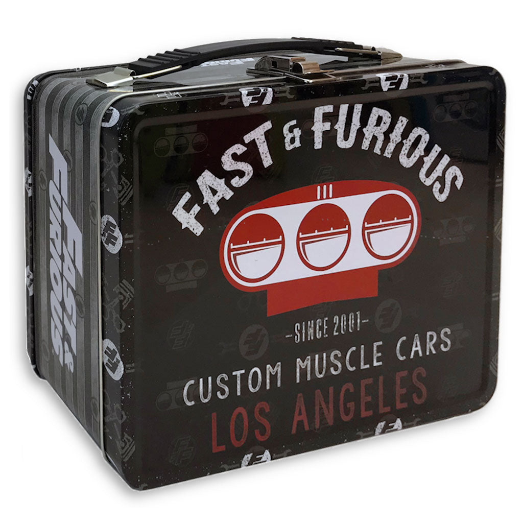 Fast and Furious Lunch Box