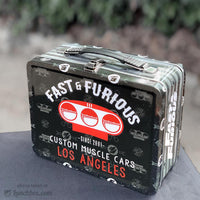 Fast And Furious Lunchbox