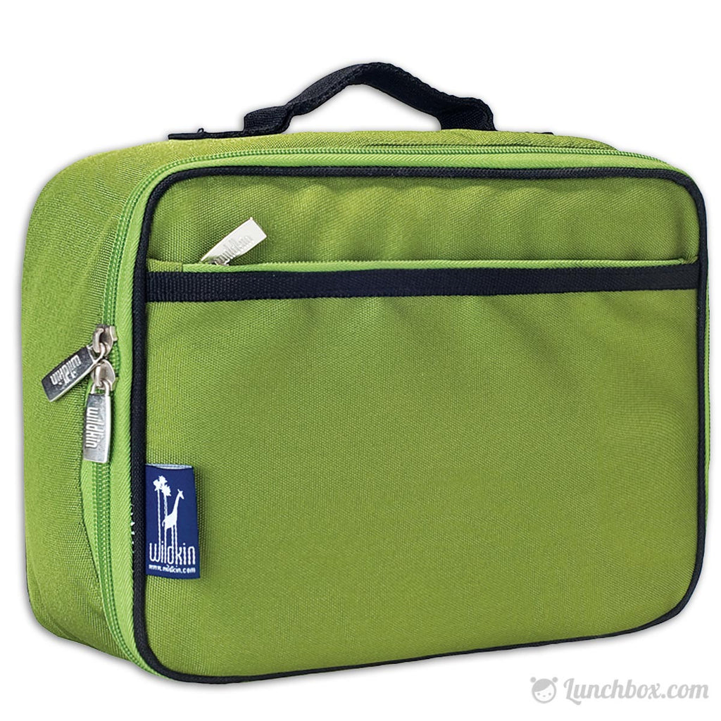 Forest Green Insulated Lunchbox