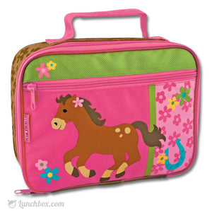 Girl Pony Lunch Box