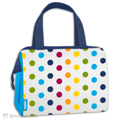 Raya Insulated Lunch Bag - Rainbow Dots