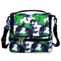 Green Camo Mens Lunch Box