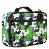 Green Camo Insulated Lunch Box