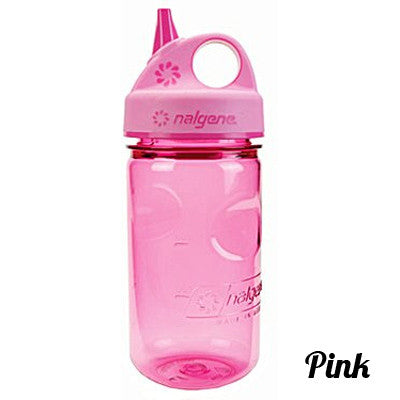 Nalgene Kids Grip-N-Gulp Bottle Pink
