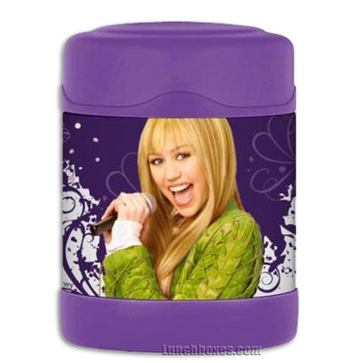 Kids Food Thermos - Hannah Montana