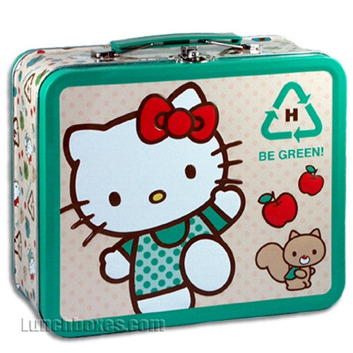 Hello Kitty - Be Green - Lunchbox