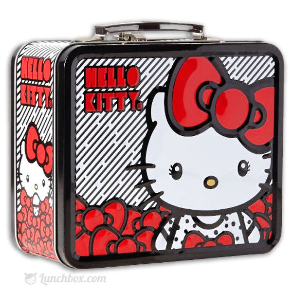 Hello Kitty - Pretty Red Bow - Lunch Box