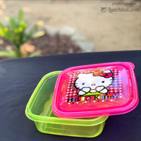 Hello Kitty Plastic Lunch Box