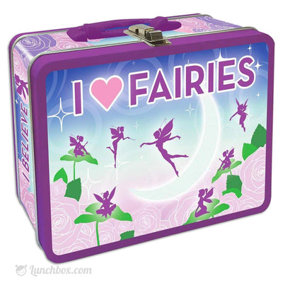 I Love Fairies Lunch Box
