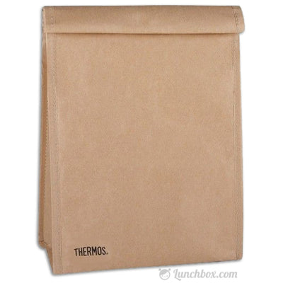 Insulated Brown Bag
