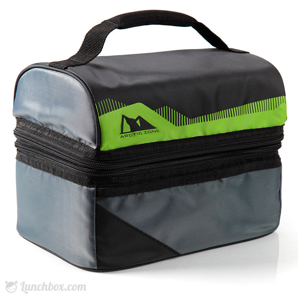 Standard Insulated Dome Lunchbox - Black