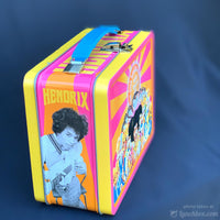 Jimi Hendrix Embossed Lunch Box