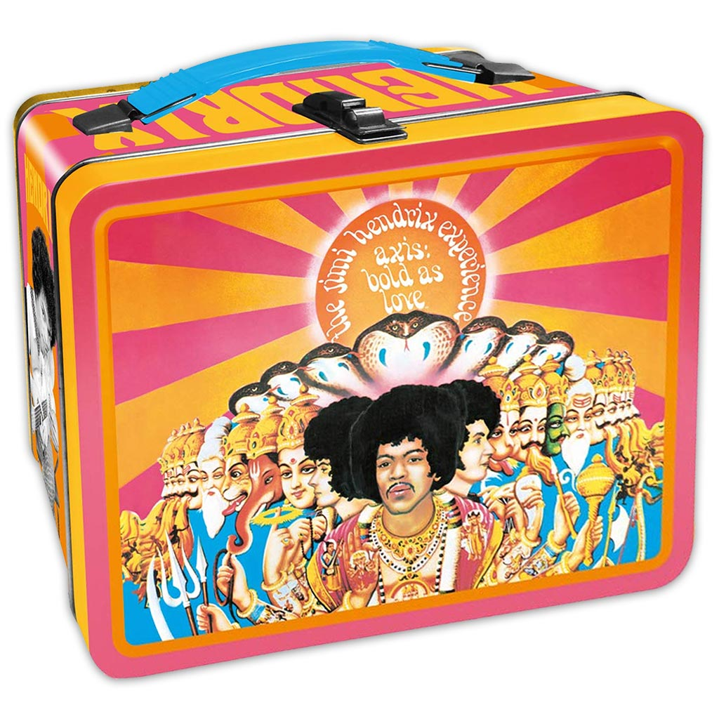 Jimi Hendrix Lunch Box