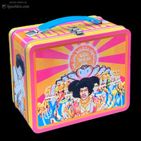 Jimi Hendrix Metal Lunch Box