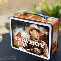 John Wayne Metal Lunchbox