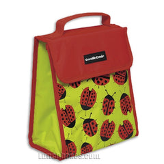 Ladybugs Insulated Lunch Sack