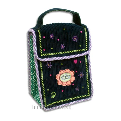 Little Abby Corduroy Lunch Bag