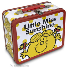 Little Miss Sunshine Metal Lunchbox