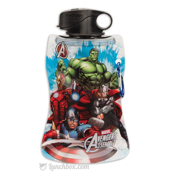 Marvel Avengers Lunch Box With Water Bottle Lunchbox Com