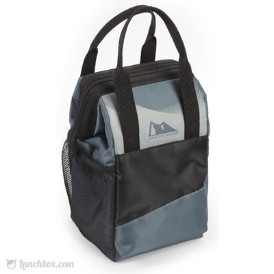 MD Insulated Lunch Bag - Black and Gray