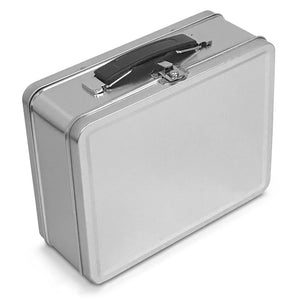 Medium Plain Metal Lunch Box