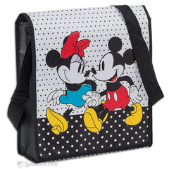 Mickey and Minnie Messenger Bag