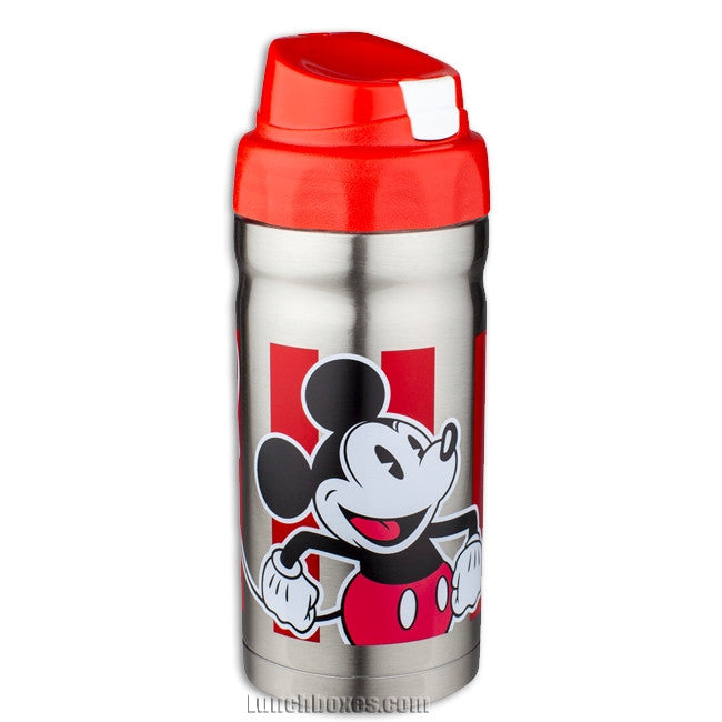 Kids Insulated Drink Bottle - Mickey Mouse
