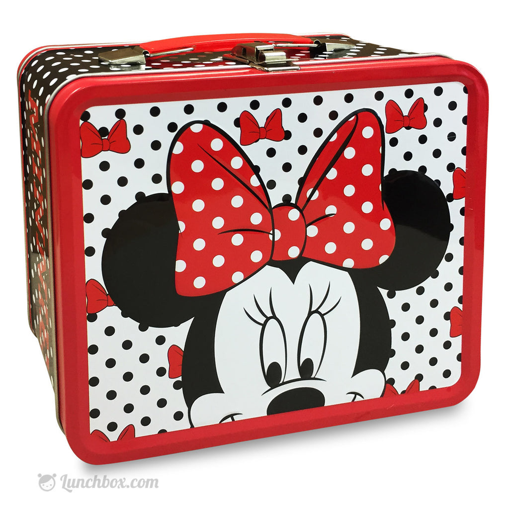 Minnie Mouse Metal Lunchbox