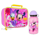 Minnie Mouse Lunch Box with Thermos Bottle