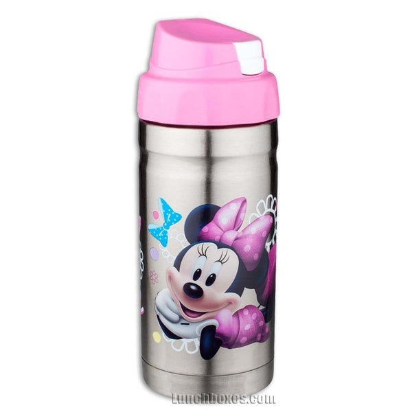 Kids Insulated Drink Bottle Minnie Mouse Lunchbox Com