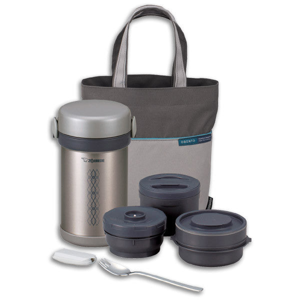 Ms. Bento Stainless Lunch Jar Set