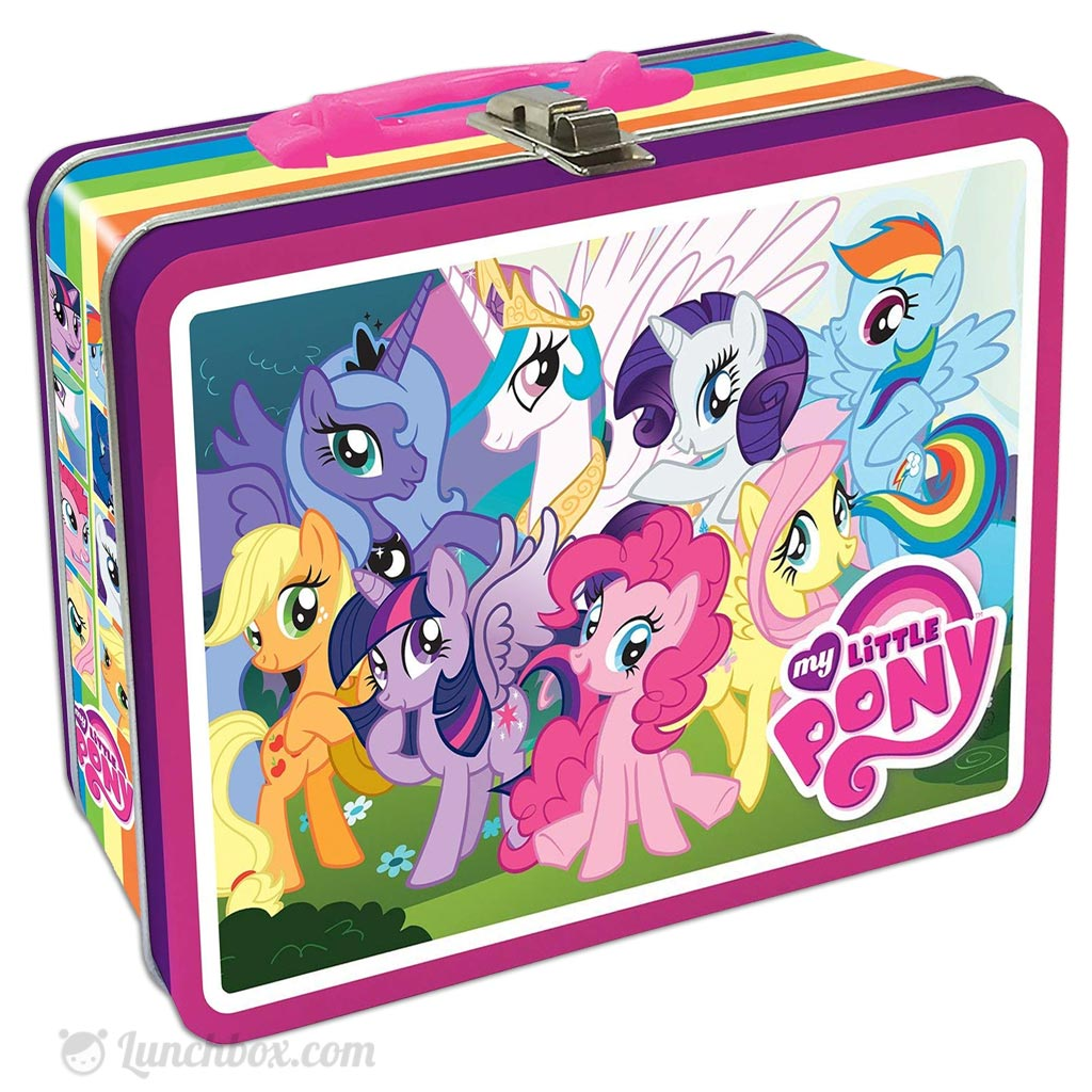 my little pony lunch box. Black Bedroom Furniture Sets. Home Design Ideas