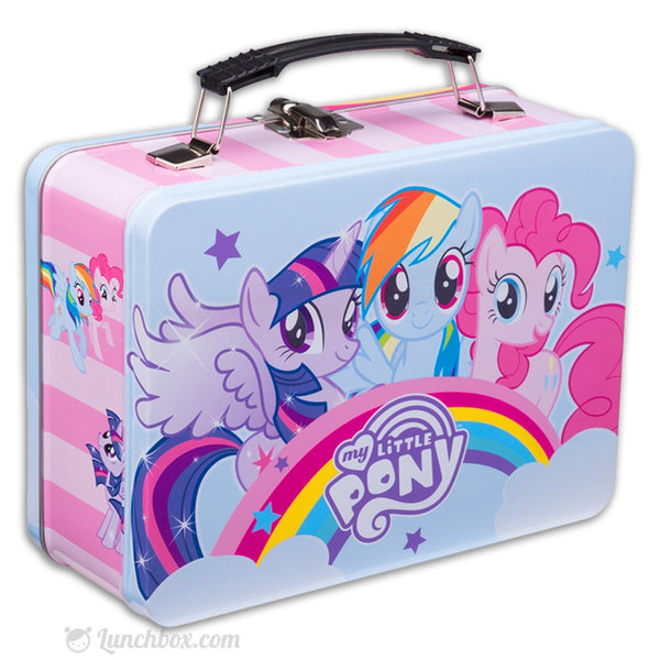 my little pony metal lunch box. Black Bedroom Furniture Sets. Home Design Ideas