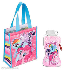 My Little Pony Insulated Lunch Bag with MLP Flexible Water Bottle