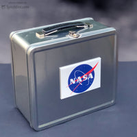 NASA Metal Lunch Box