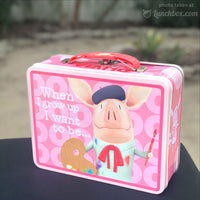 Olivia Metal Lunch Box