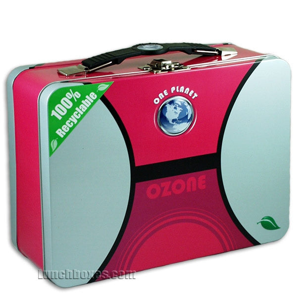 Rosie the Riveter Lunch Box Snack Box NEW Red Blue Case We Can Do It