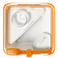 Orange Lunch Bento Box