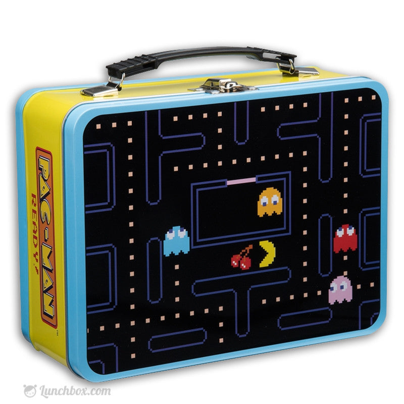 Pac-Man Metal Lunch Box
