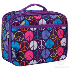 Peace Signs Lunch Box