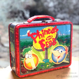 Phineas and Ferb Embossed Lunchbox